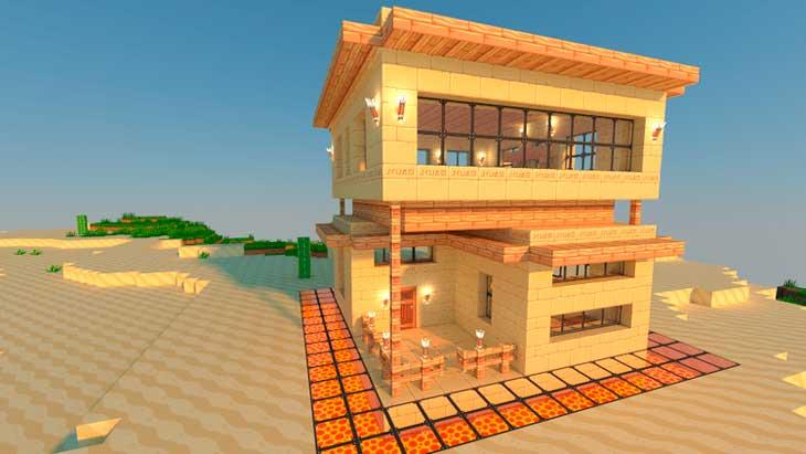 simple minecraft survival house ideas